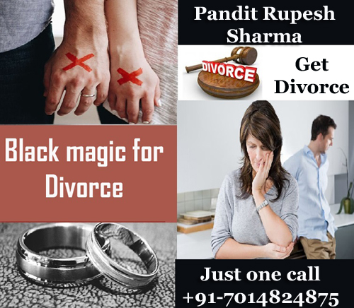 Black magic for divorce