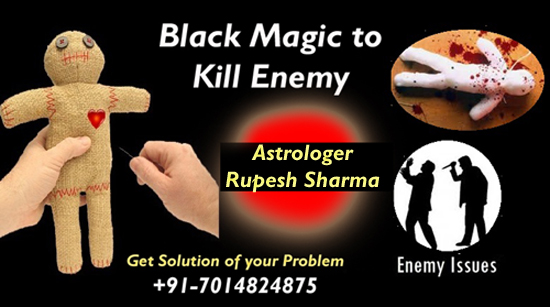 Black magic to kill enemy