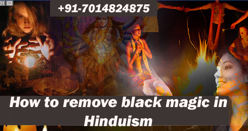 How to remove black magic in Hinduism