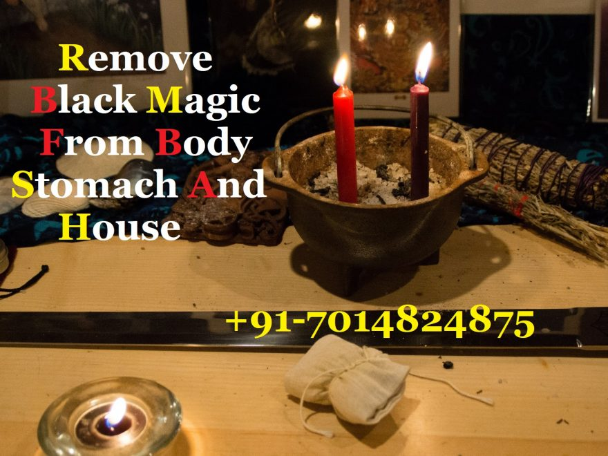 Remove black magic from body stomach and house