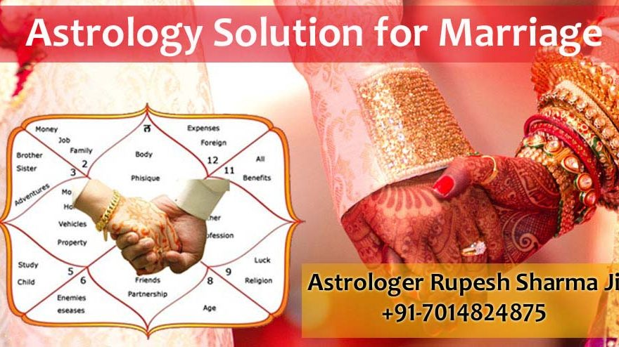 Astrology solution for marriage
