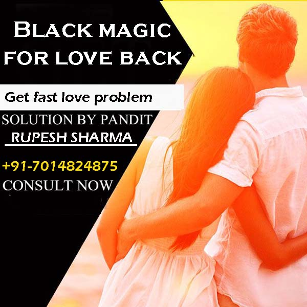 Black magic for love back